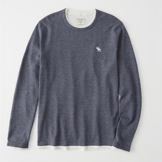 アバクロンビーアンドフィッチ(Abercrombie&Fitch)のXXLサイズ!アバクロ長袖Tシャツ(Tシャツ/カットソー(七分/長袖))