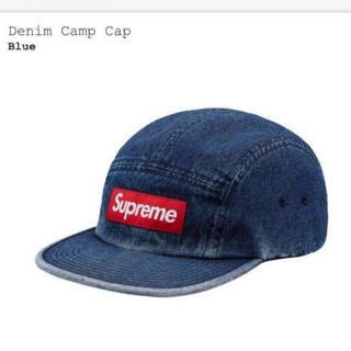 c62761d2 シュプリーム(Supreme)のなちゅ様専用 Denim Camp Cap Blue Denim 18ss(