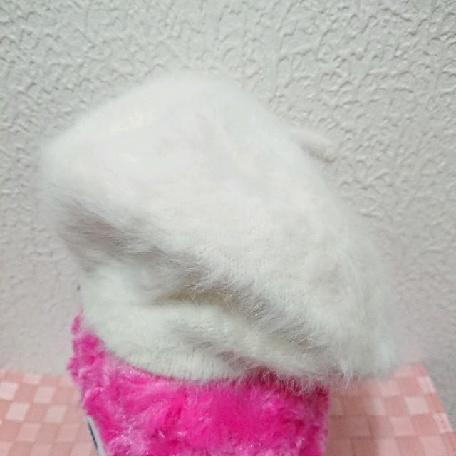 しまむら(シマムラ)の新品 しまむら ファー ベレー帽♥️夢展望 レディースの帽子(ハンチング/ベレー帽)の商品写真