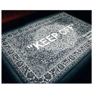 オフホワイト(OFF-WHITE)のIKEA VIRGIL off white ラグ オフホワイト rug マット(ラグ)