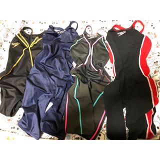 スピード(SPEEDO)の競泳水着 speedo Mサイズ 4枚(水着)