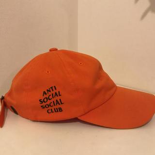 アンチ(ANTI)の人気送料込み アンチソーシャルソーシャルクラブキャップ(オレンジ)(キャップ)