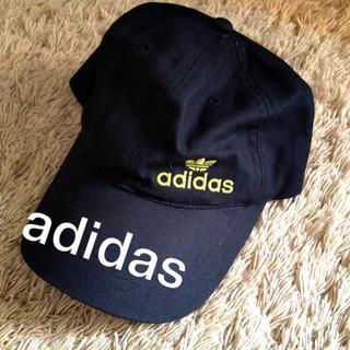 アディダス(adidas)のadidas♡cap/ネイビー(キャップ)