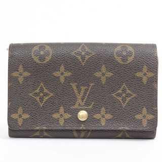 ルイヴィトン(LOUIS VUITTON)の交渉歓迎 本物  美品  ルイヴィトン モノグラム 二つ折り財布(財布)