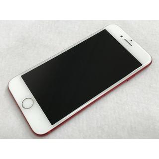 アップル(Apple)の【SIMロック解除済】SoftBank iPhone7 128GB レッド(スマートフォン本体)