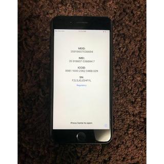 アップル(Apple)のiPhone7plus 128GB docomo ブラック(スマートフォン本体)