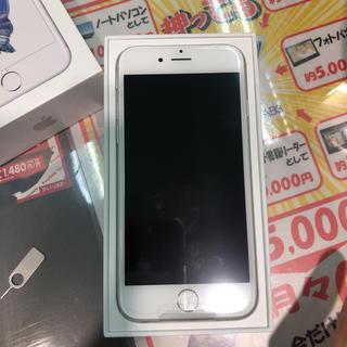 アップル(Apple)の新品未使用]iphone6s 32GB SILVER SIMフリー(スマートフォン本体)