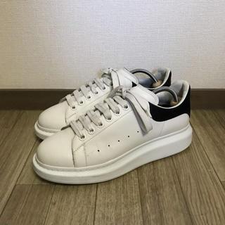 アレキサンダーマックイーン(Alexander McQueen)のalexander mcqueen oversized sneaker 41 白(スニーカー)