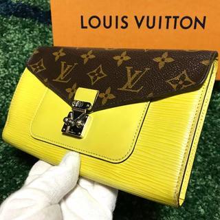 ルイヴィトン(LOUIS VUITTON)の❤交渉OK❤極美品❤ 希少モデル マリーローズ ルイヴィトン 長財布(財布)