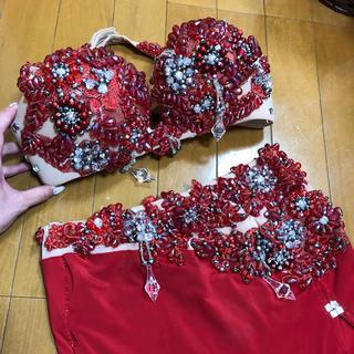 【12/23削除予定】ベリーダンス 赤 衣装