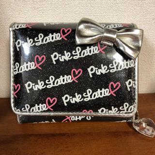 ピンクラテ(PINK-latte)のPink latte ピンクラテ 二つ折り 財布(財布)