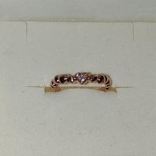 スタージュエリー(STAR JEWELRY)のスタージュエリー ピンキーリング 0号 ダイヤモンド0.01ct k10(リング(指輪))