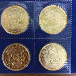 純金80g 昭和61年 天皇御在位60年記念 20g 純金貨 4枚(貨幣)
