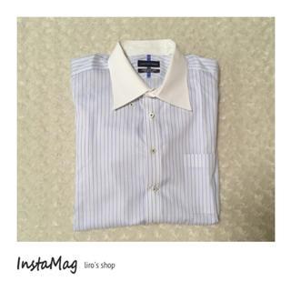 アオヤマ(青山)のCHRISTIAN ORANI♡ストライプシャツ(シャツ)