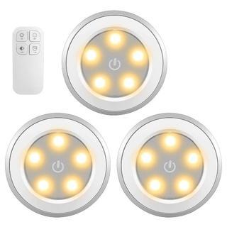 LED タッチライト リモコン操作も可 3個セット(その他)