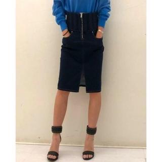 ディーゼル(DIESEL)の極美品 デーゼル JOGG JEANS デニム スカート(ひざ丈スカート)