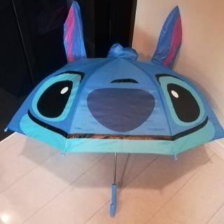 ディズニー(Disney)のスティッチ 耳付き傘 47cm(傘)