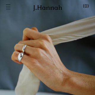 J.hannah ジェイハンナ ピンキーリング(リング(指輪))