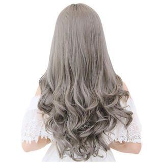 ♡在庫限り♡フル ウィッグ ロングヘア 長い髪 巻き髪 カール ネット付き(ロングカール)