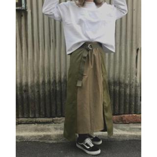 KBF - KBF ラップレイヤードスカート