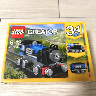 レゴ(Lego)のレゴ(LEGO) クリエイター 青い汽車 31054(知育玩具)