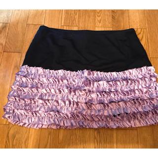 イセタン(伊勢丹)のセシルリンク ミニスカ ペチスカート Mサイズ 美品 レディース フリル(ミニスカート)