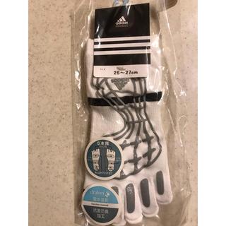 アディダス(adidas)のアディダス メンズ5本指ソックス25〜27cm(ソックス)