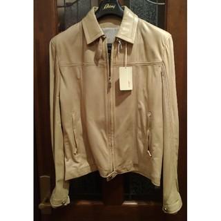 キトン(KITON)のブリオーニBrioniナパレザー革ブルゾンジャケットコート替え襟(レザージャケット)