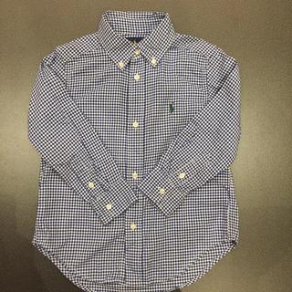 ラルフローレン(Ralph Lauren)のラルフローレン100センチギンガムチェックシャツ(ブラウス)