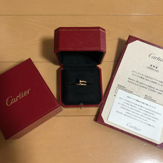 カルティエ(Cartier)のCartier juste un clou ring Pink Gold(リング(指輪))