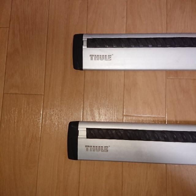 THULE(スーリー)のTHULE TH961 アルミ ウイングバー 2本セット 118cm 自動車/バイクの自動車(車外アクセサリ)の商品写真