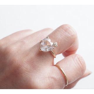 レイジースーザン(LAZY SUSAN)のレイジースーザン ハートリング 指輪(リング(指輪))