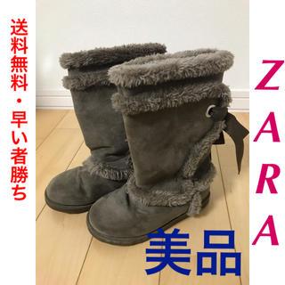 ザラ(ZARA)の【送料無料・最終値下げ!】ZARA ザラ ブーツ(ブーツ)