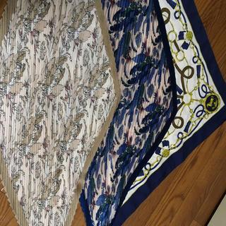 ジーユー(GU)のジーユー ユニクロ スカーフ 3枚セット(バンダナ/スカーフ)
