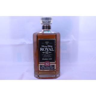 サントリー(サントリー)のサントリーウイスキー ローヤル12年 角瓶 40度 660ml(箱なし)(ウイスキー)