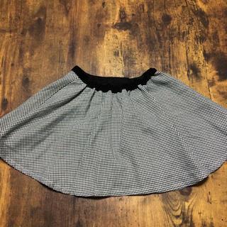 アカチャンホンポ(アカチャンホンポ)の*未使用*アカチャンホンポ 千鳥柄スカート サイズ95(スカート)