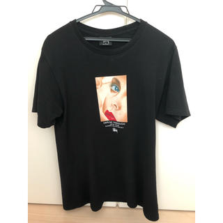 ステューシー(STUSSY)のStussy harumi Yamaguchi Tee 二枚セット ピンク 黒(Tシャツ/カットソー(半袖/袖なし))