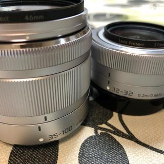 パナソニック(Panasonic)のLUMIX G VARIO 35-100mm 12-32mm (レンズ(ズーム))