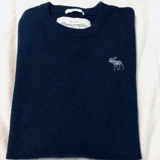 アバクロンビーアンドフィッチ(Abercrombie&Fitch)のAbercrombie & Fitch アバクロ セーター メンズ Mサイズ(ニット/セーター)