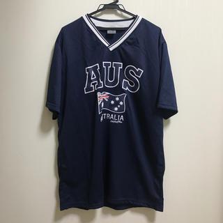 エクストララージ(XLARGE)のAUS Tシャツ ストリート ラッパー オーストラリア国旗(Tシャツ/カットソー(半袖/袖なし))