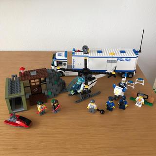 レゴ(Lego)のLEGO レゴシティ ポリス 泥棒 ベーストラック ヘリコプター バイク(積み木/ブロック)
