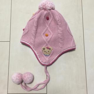 ファミリア(familiar)の【美品】ファミリア★帽子 Sサイズ(帽子)