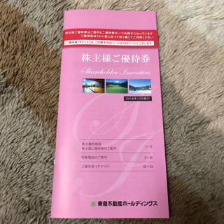 東急不動産 株主優待券 16枚セット(フィットネスクラブ)
