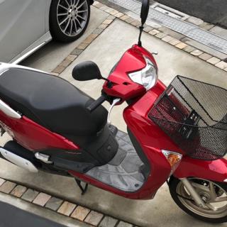 ホンダ(ホンダ)の★HONDA LEAD ホンダリード 107㏄ 赤色 25300㌔ 東京から (車体)
