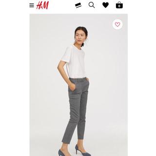 エイチアンドエム(H&M)のH&M スラックス 36(クロップドパンツ)
