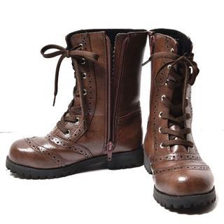 ブーツ美品 ブラウン 20cm(ブーツ)