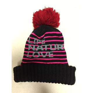 ロンハーマン(Ron Herman)のFREECITY ニット帽 ボンボンニット帽(ニット帽/ビーニー)