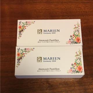 セイカツノキ(生活の木)の✳︎新品✳︎ マリエン薬局 メディカルハーブドロップ 2箱 のど飴(その他)