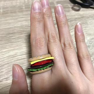 クレアーズ(claire's)のハンバーガー 指輪 リング クレアーズ(リング(指輪))