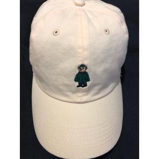 ジャーナルスタンダード(JOURNAL STANDARD)のNEWHATTAN キャップ ベア刺繍 ジャーナルスタンダード 帽子(キャップ)